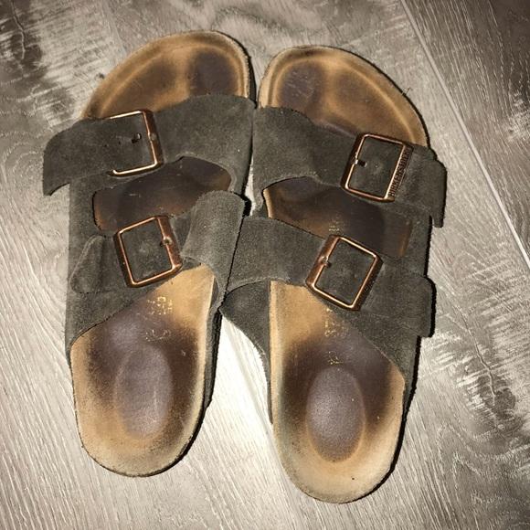d6c5b700d3b9 Women's Birkenstock Arizona Soft Footbed Sandals. M_5c4b9c14fe5151f460fef880